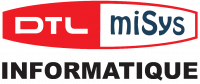 DTL-miSys Informatique Logo